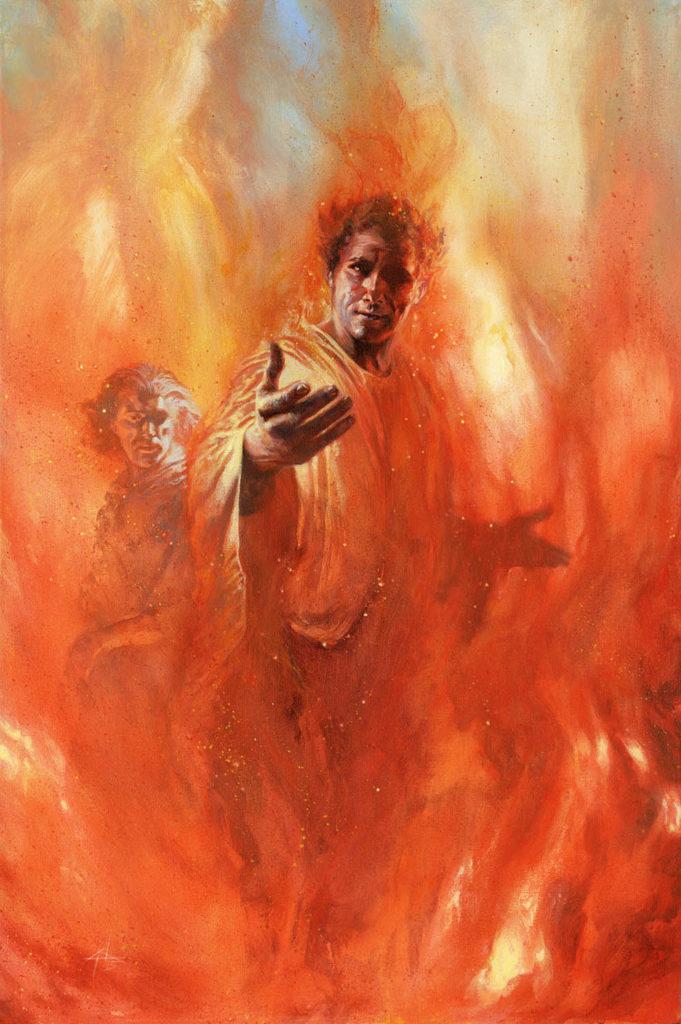 Purgatorio_Canto_27_Muro di fuoco