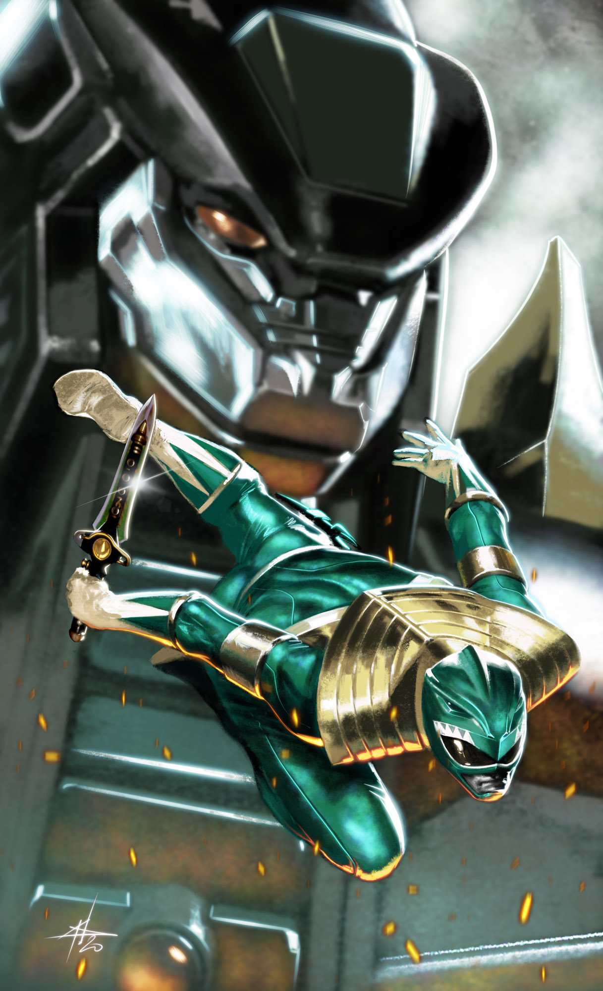 Power Rangers #1 (Scorpion Comics)