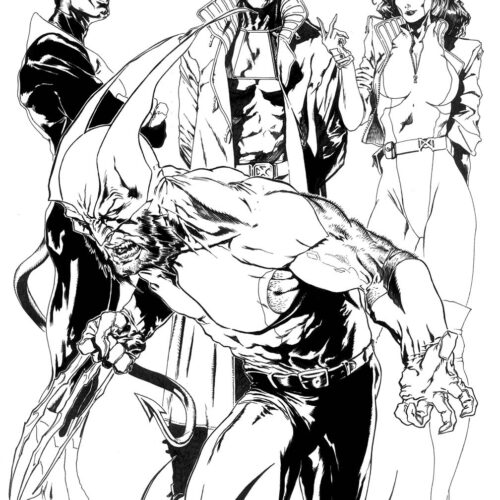 X-men #37 Angoulême variant (02:2000)